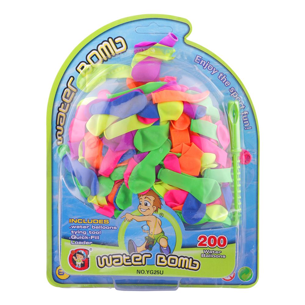 Vattenballonger 200-Pack - 200ST