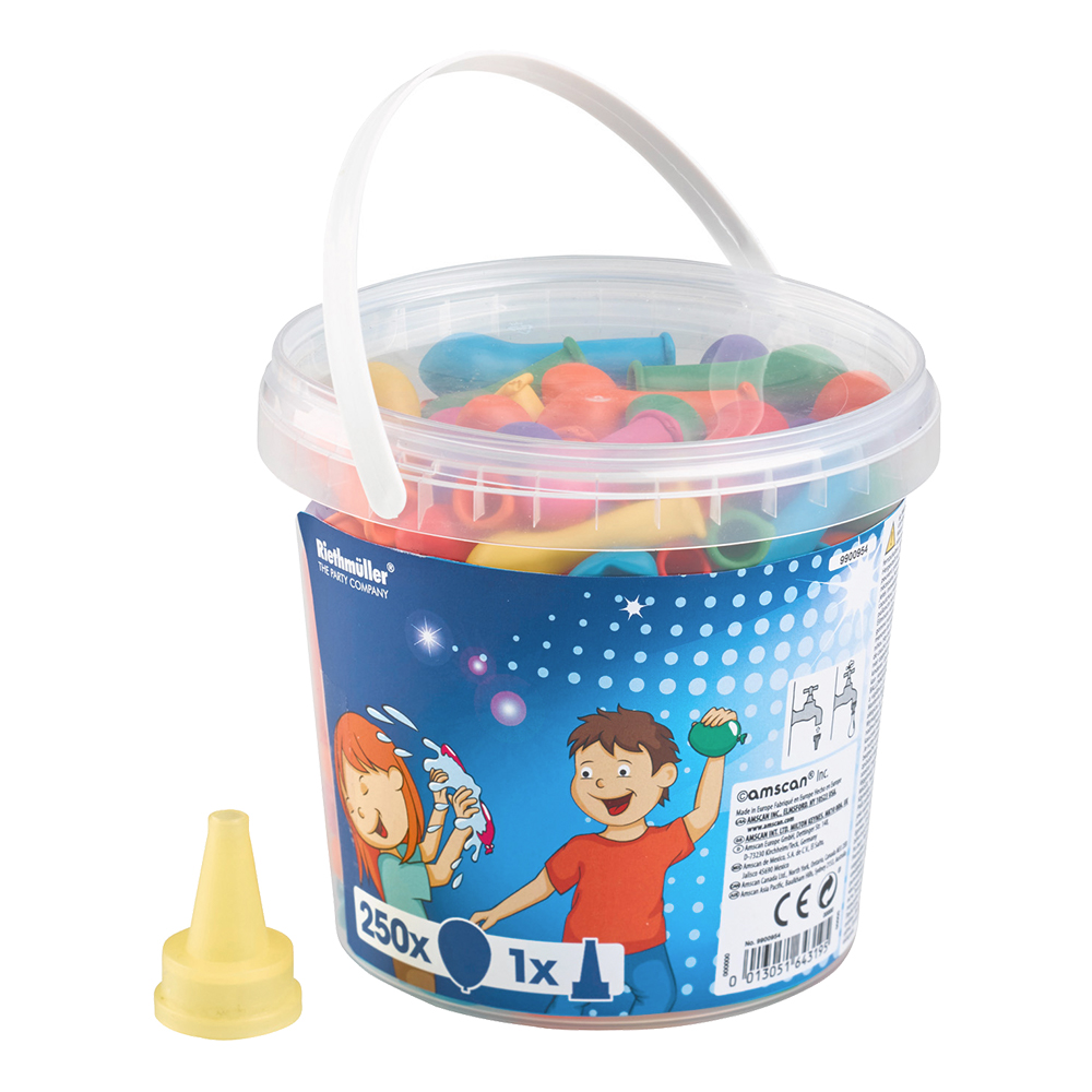 Vattenballonger Blandade Färger - 250-pack