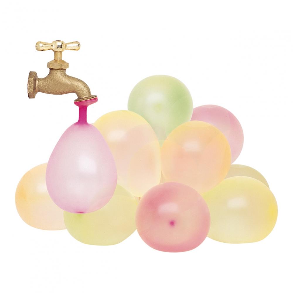 Vattenballonger - Vattenballonger Neonfärgade - 50-pack