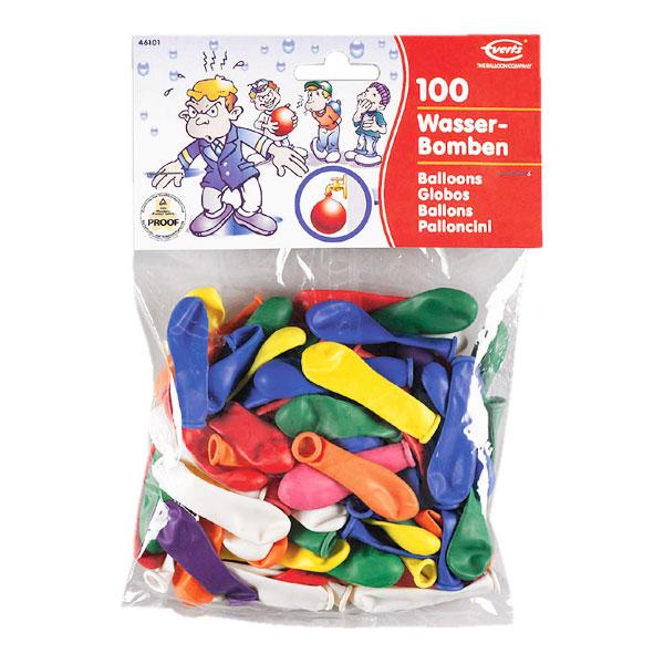 Vattenballonger - 100-pack