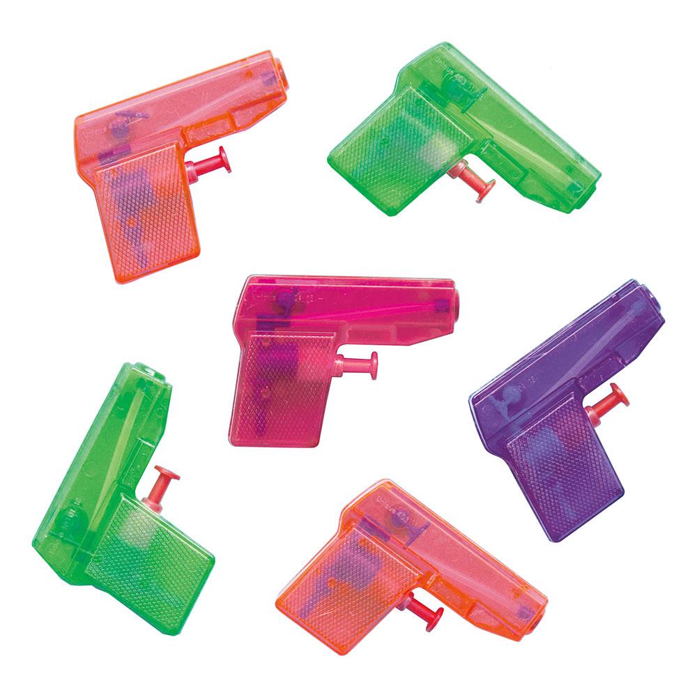Vattenpistoler Mini Flerfärgade - 8-pack