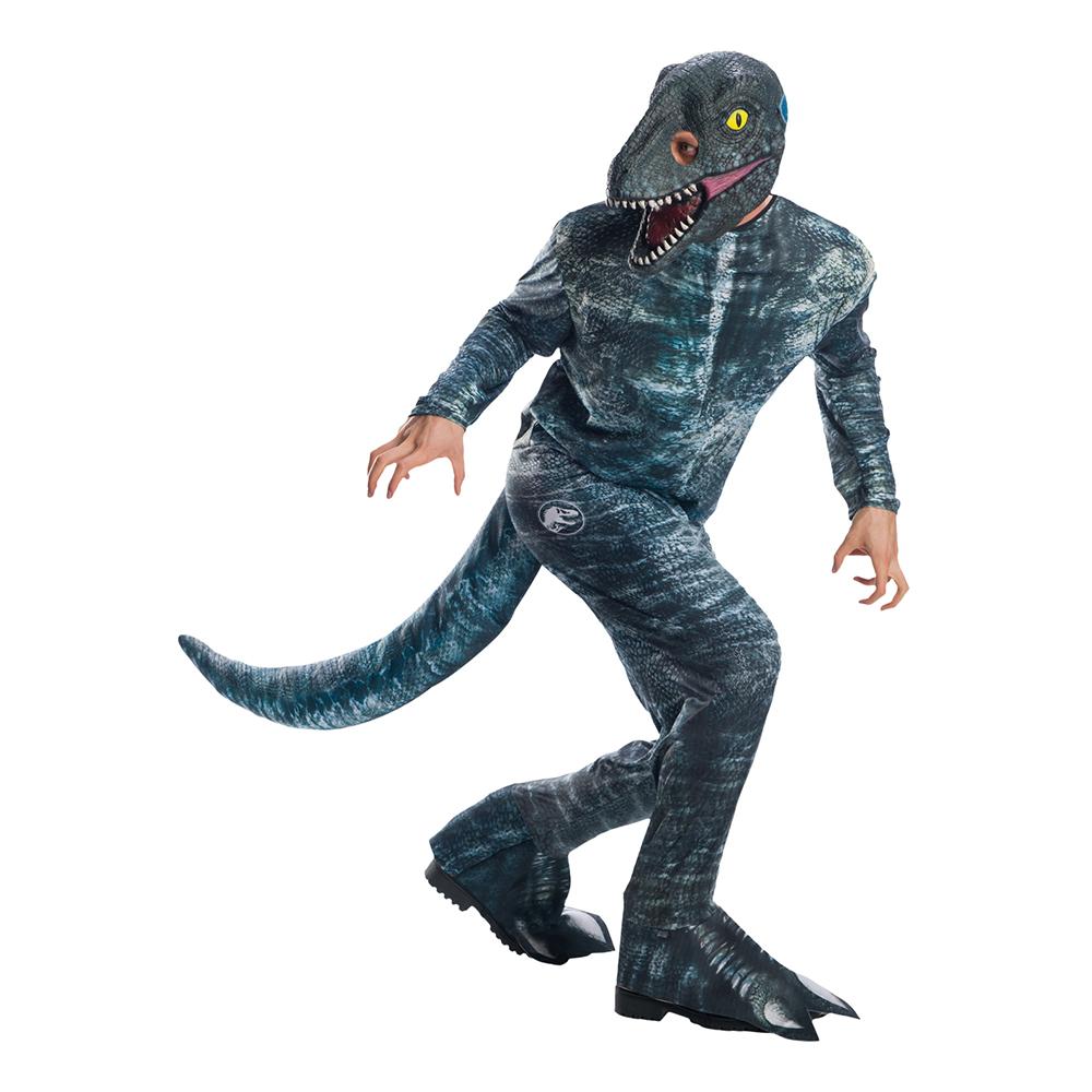 Velociraptor Maskeraddräkt - X-Large