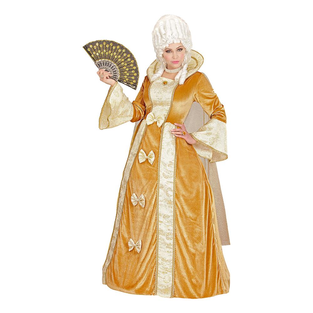 Venetiansk Adelsdam Maskeraddräkt - Small