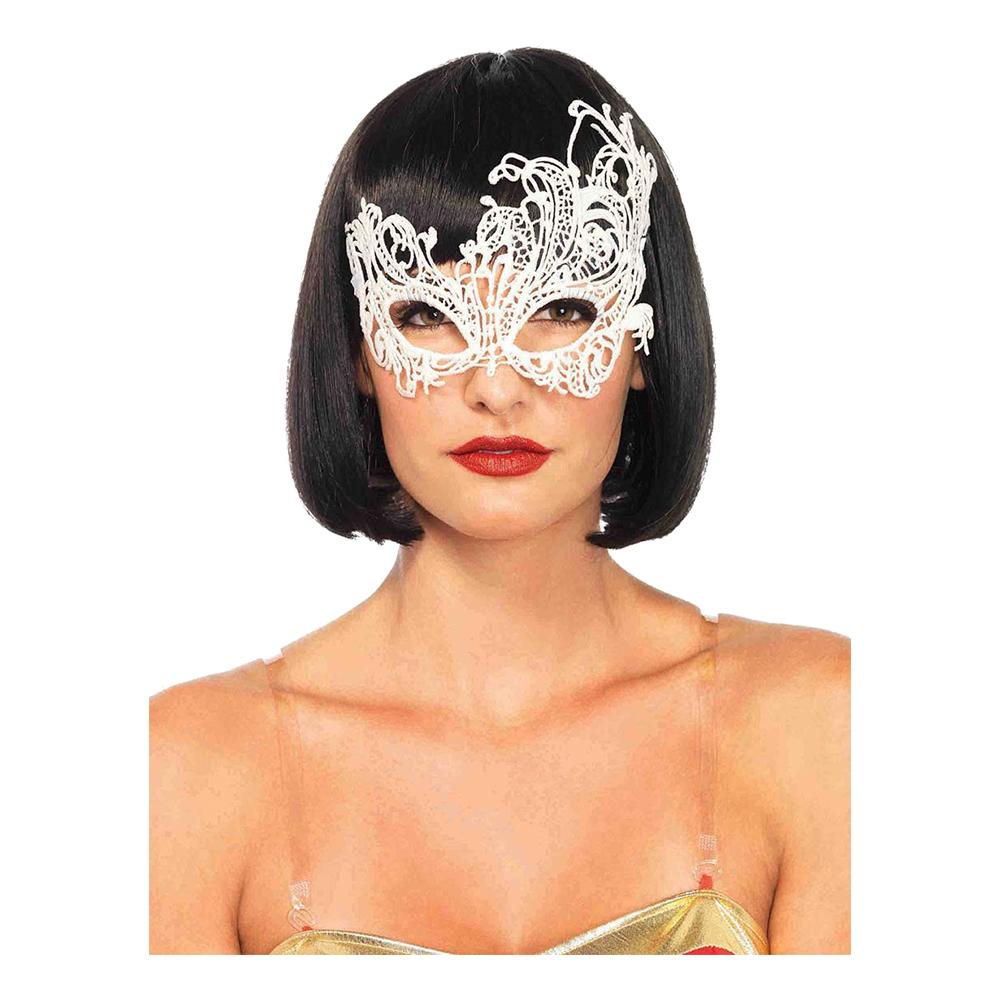 Venetiansk Vit Deluxe Ögonmask - One size