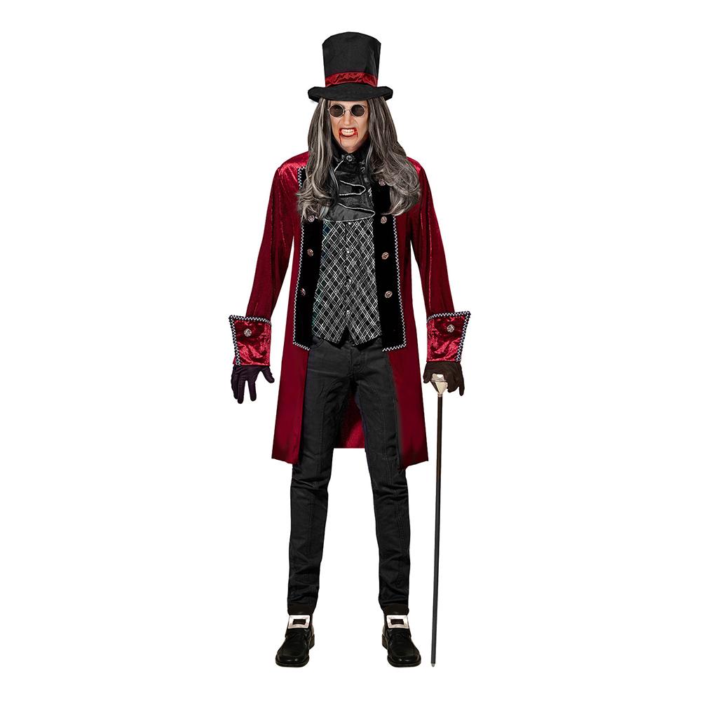 Viktoriansk Vampyr Halloween Maskeraddräkt - Small
