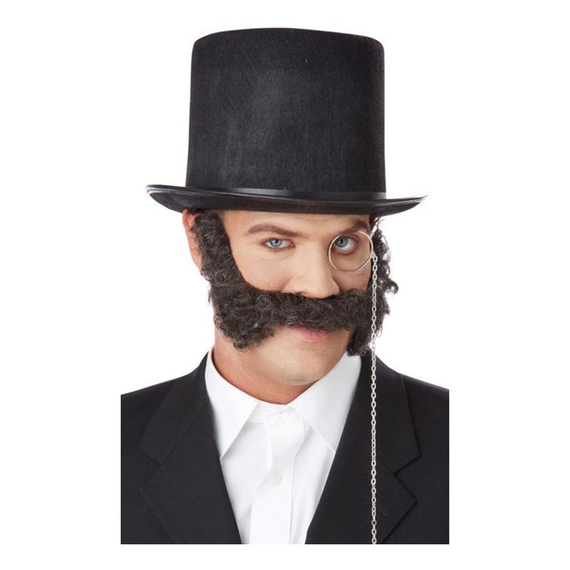 Viktorianskt Skägg och Mustasch