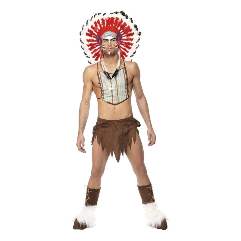 Village People Indian Maskeraddräkt - One size