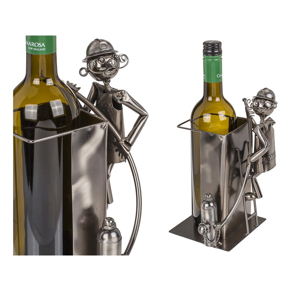 Vinflaskhållare Brandman
