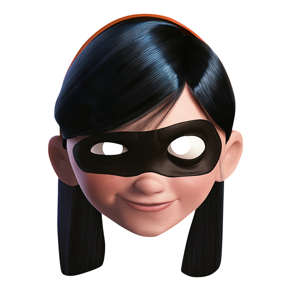 Violet Incredible Pappmask