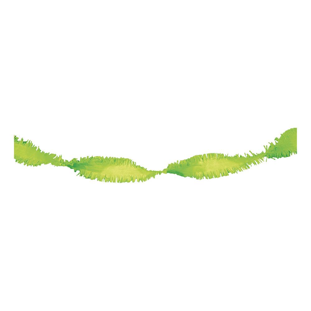 Virvelgirlang Limegrön - 6 meter