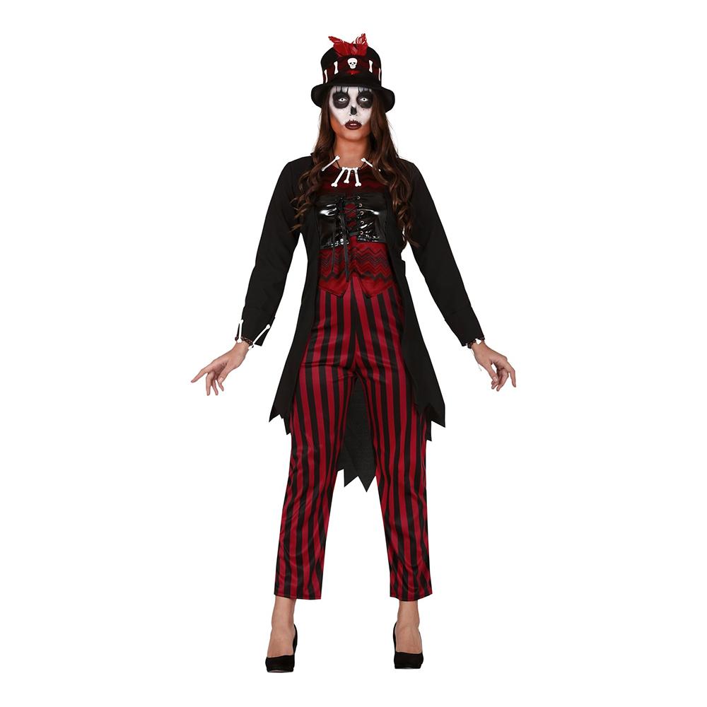 Voodoo-Kvinna Maskeraddräkt - Medium
