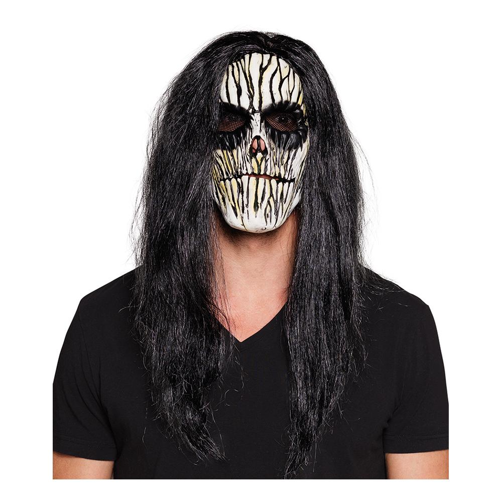 Voodoo Mask med Hår - One size