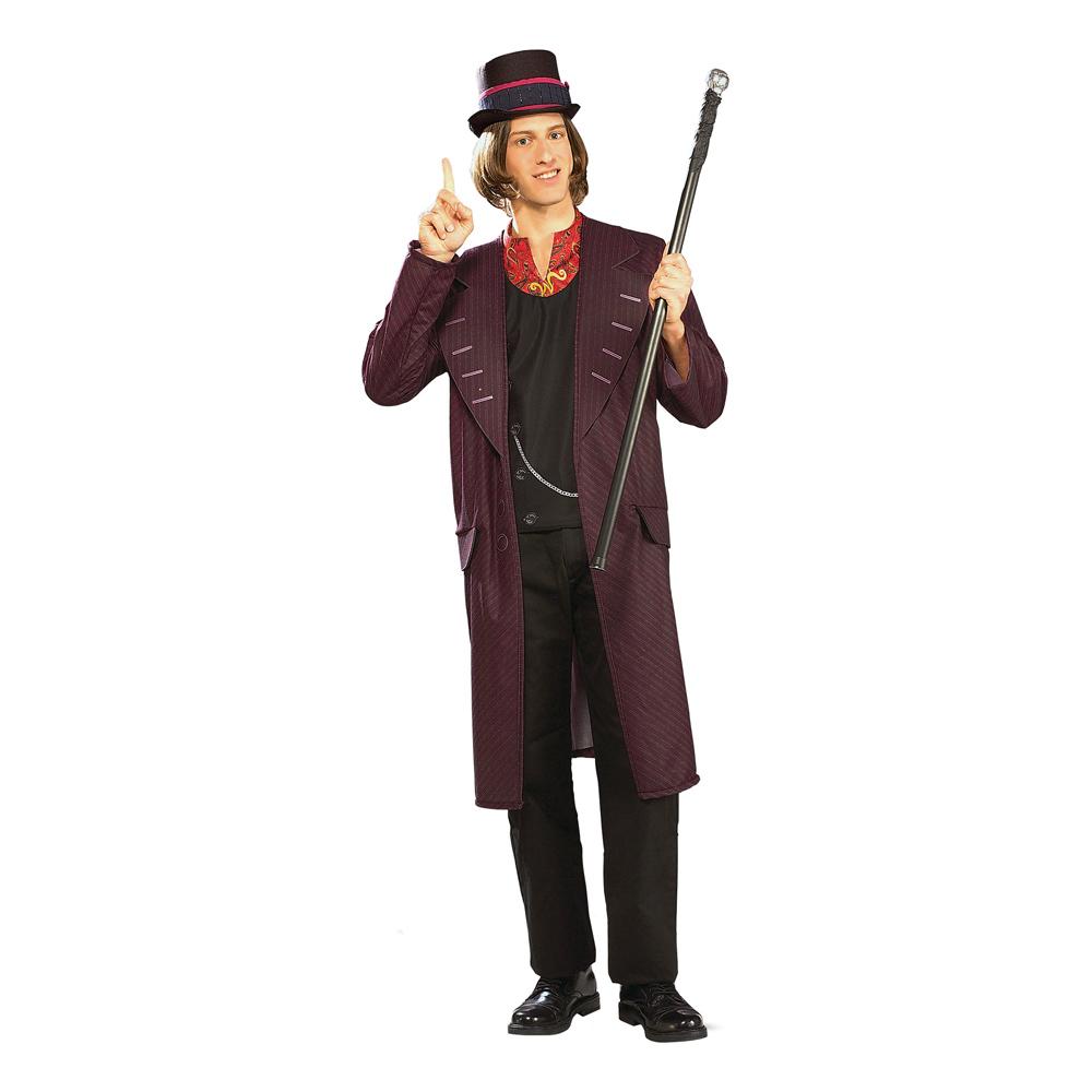 Willy Wonka Maskeraddräkt - Standard