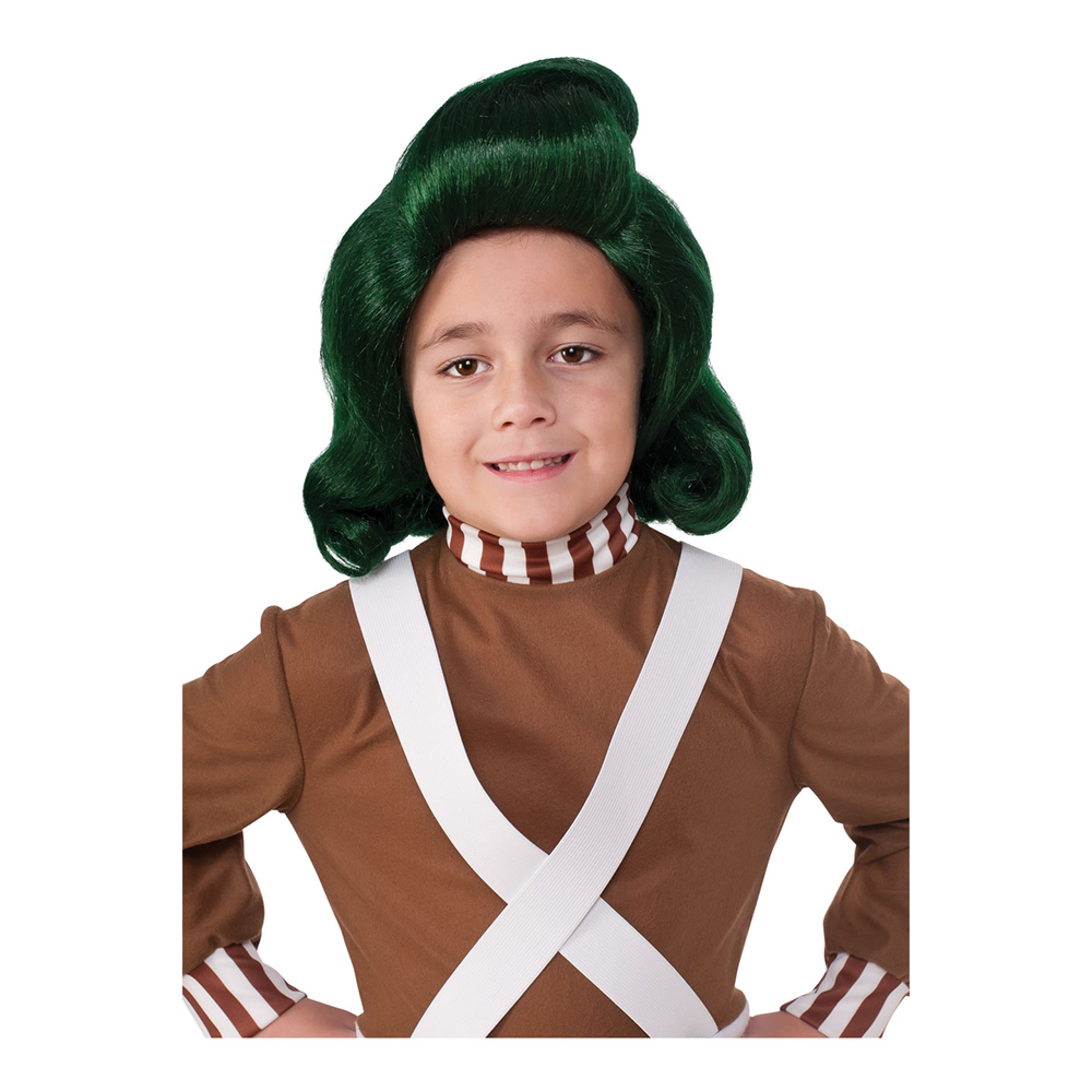 Willy Wonka Oompa Loompa Barn Peruk - One size