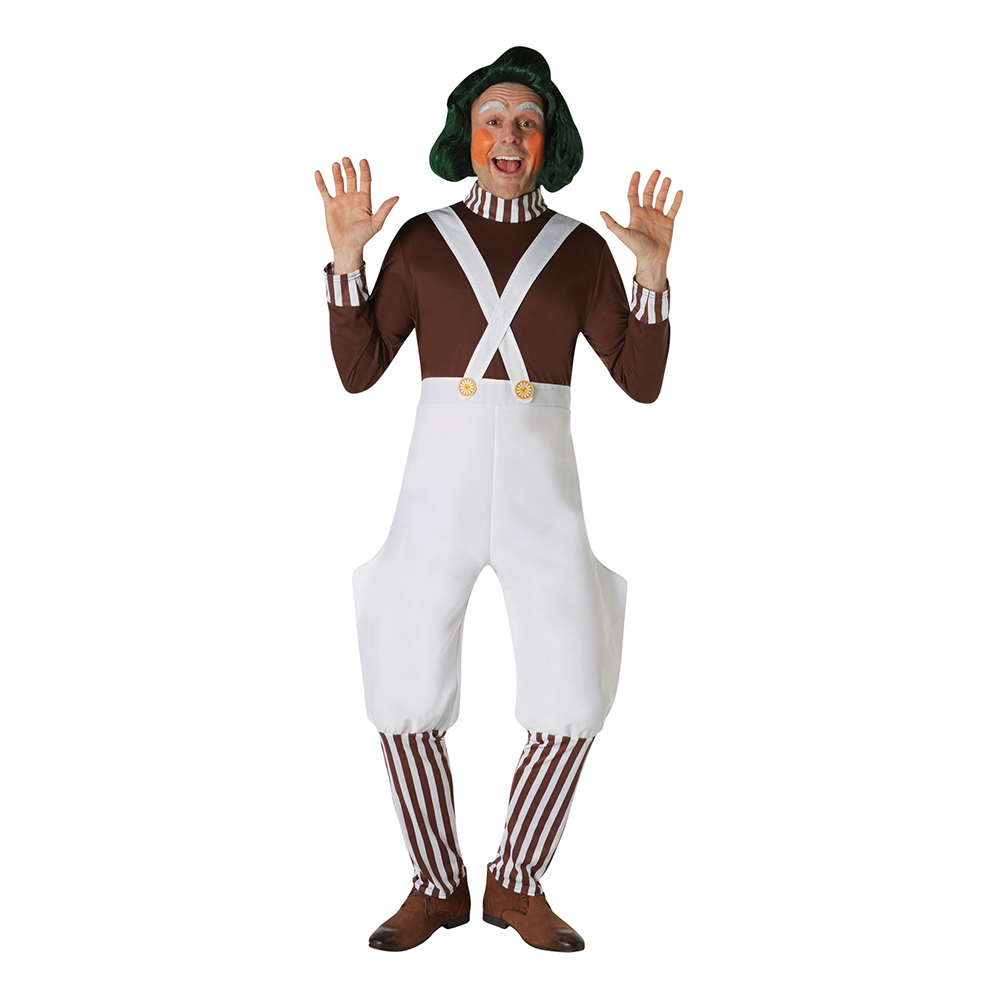 Willy Wonka Oompa Loompa Peruk - One size