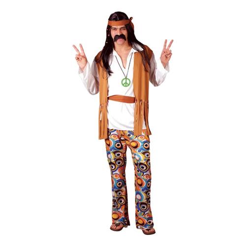Woodstock Hippie Maskeraddräkt - Small