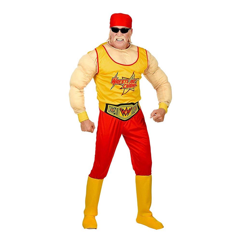 Wrestling Mästare Maskeraddräkt - Small