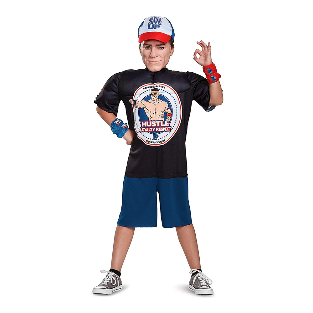 WWE John Cena Barn Maskeraddräkt - Small