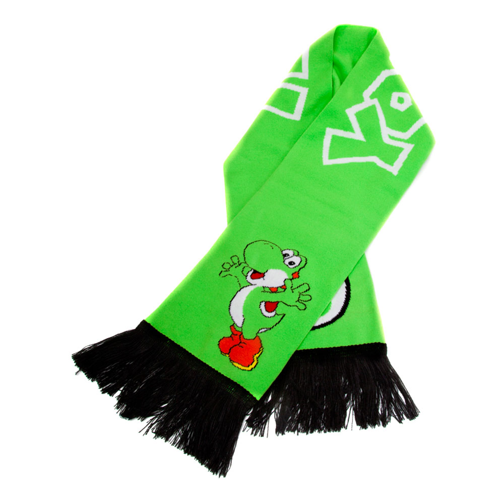 Yoshi Grön Stickad Halsduk