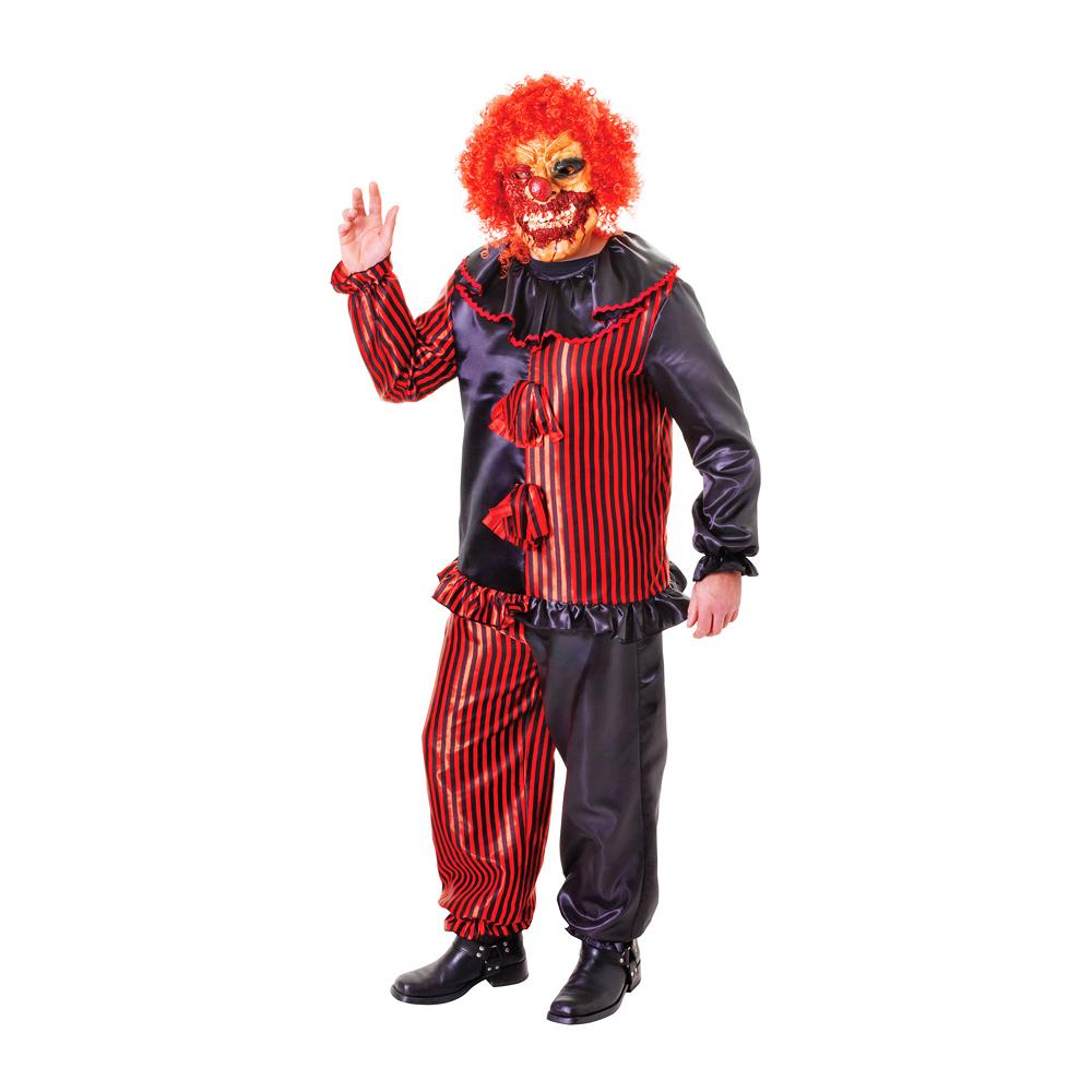 Zombie Clown Maskeraddräkt - One size