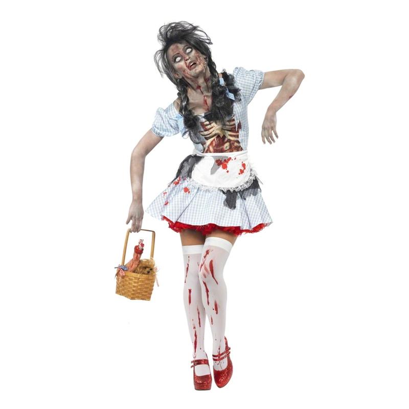 Zombie Dorothy Maskeraddräkt - Small