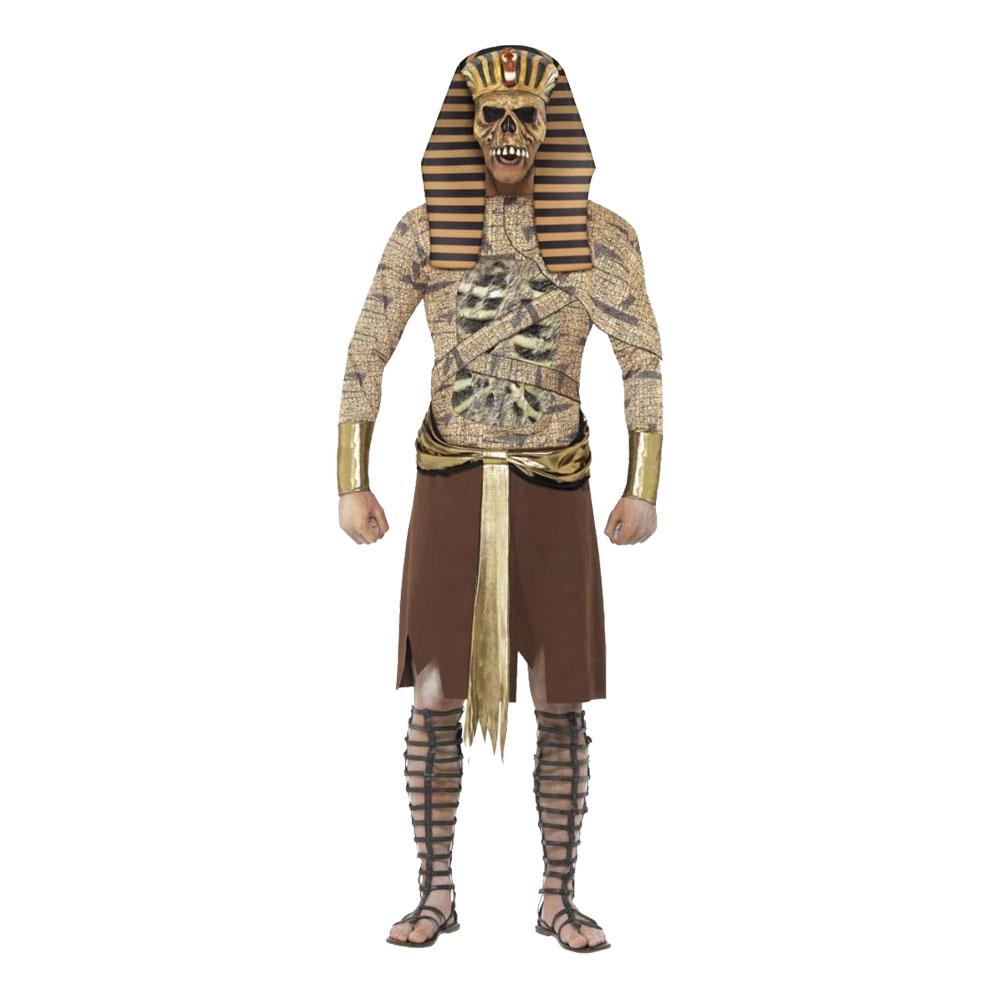 Zombie Farao Maskeraddräkt - Medium