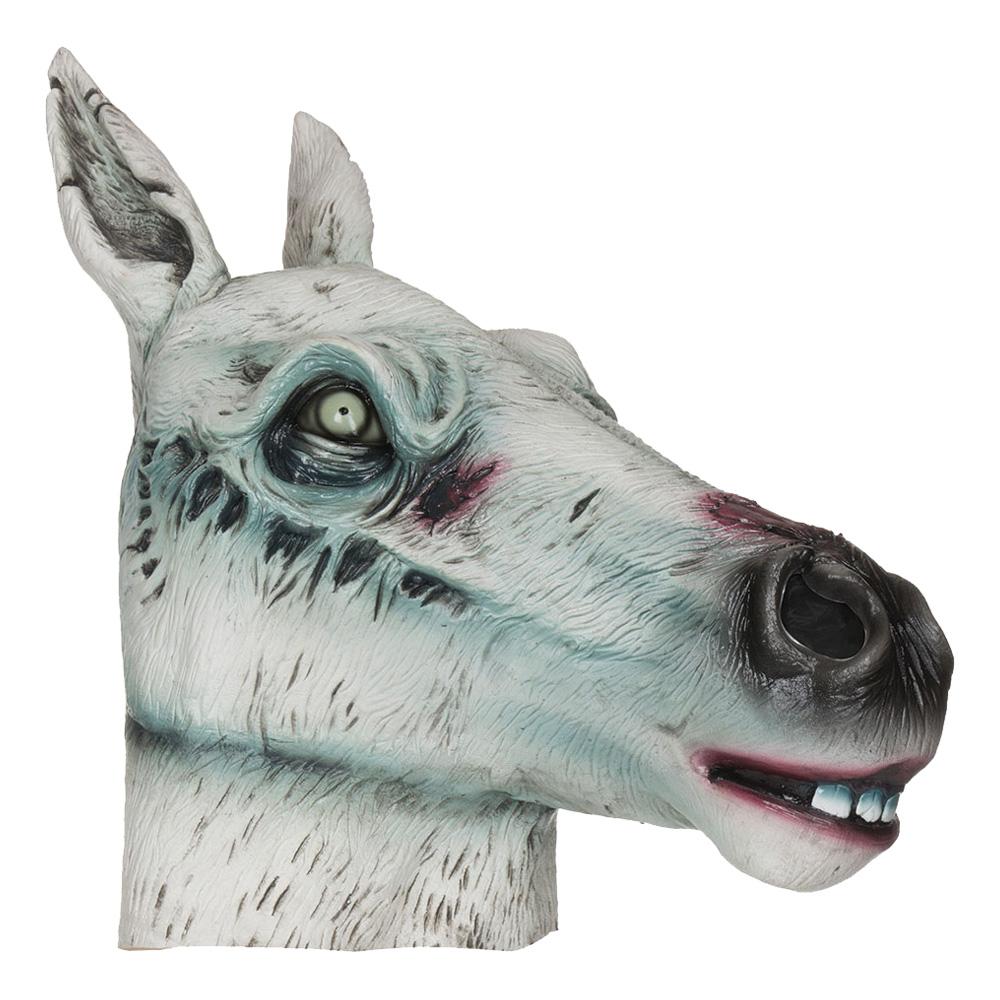 Zombie Häst Mask - One size