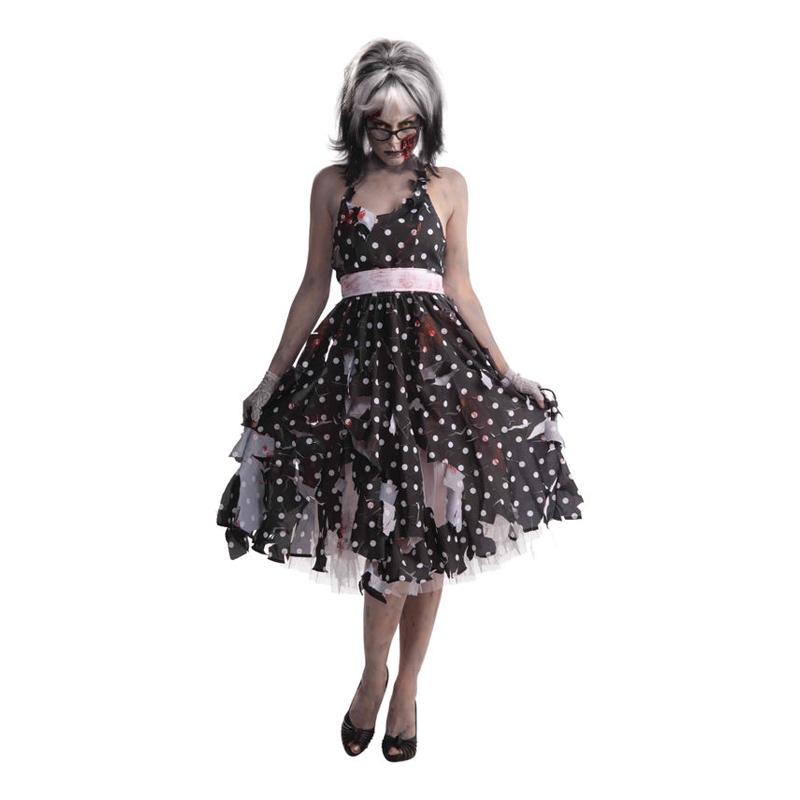 Zombie Hemmafru Maskeraddräkt - One size
