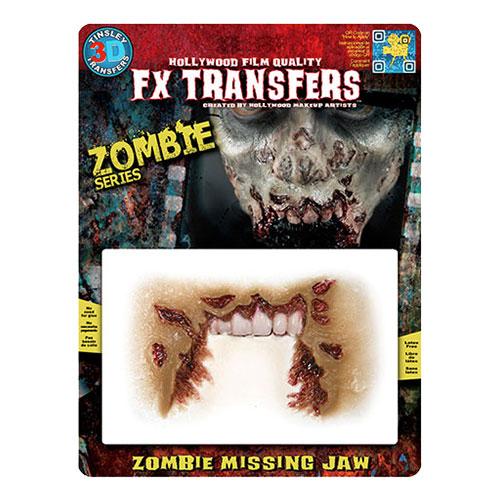 Zombie Missing Jaw FX Transfers