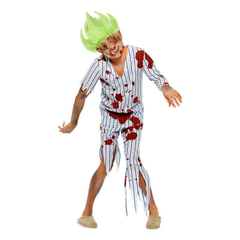 Zombie Penntroll Maskeraddräkt - Large