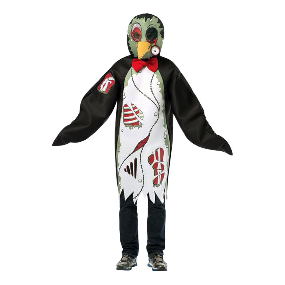 Zombie Pingvin Maskeraddräkt - One size