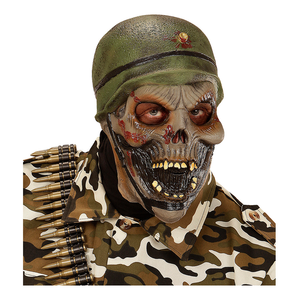 Zombie Soldat Mask - One size