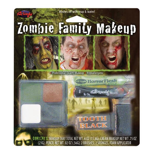 Zombiekaraktärer Sminkset