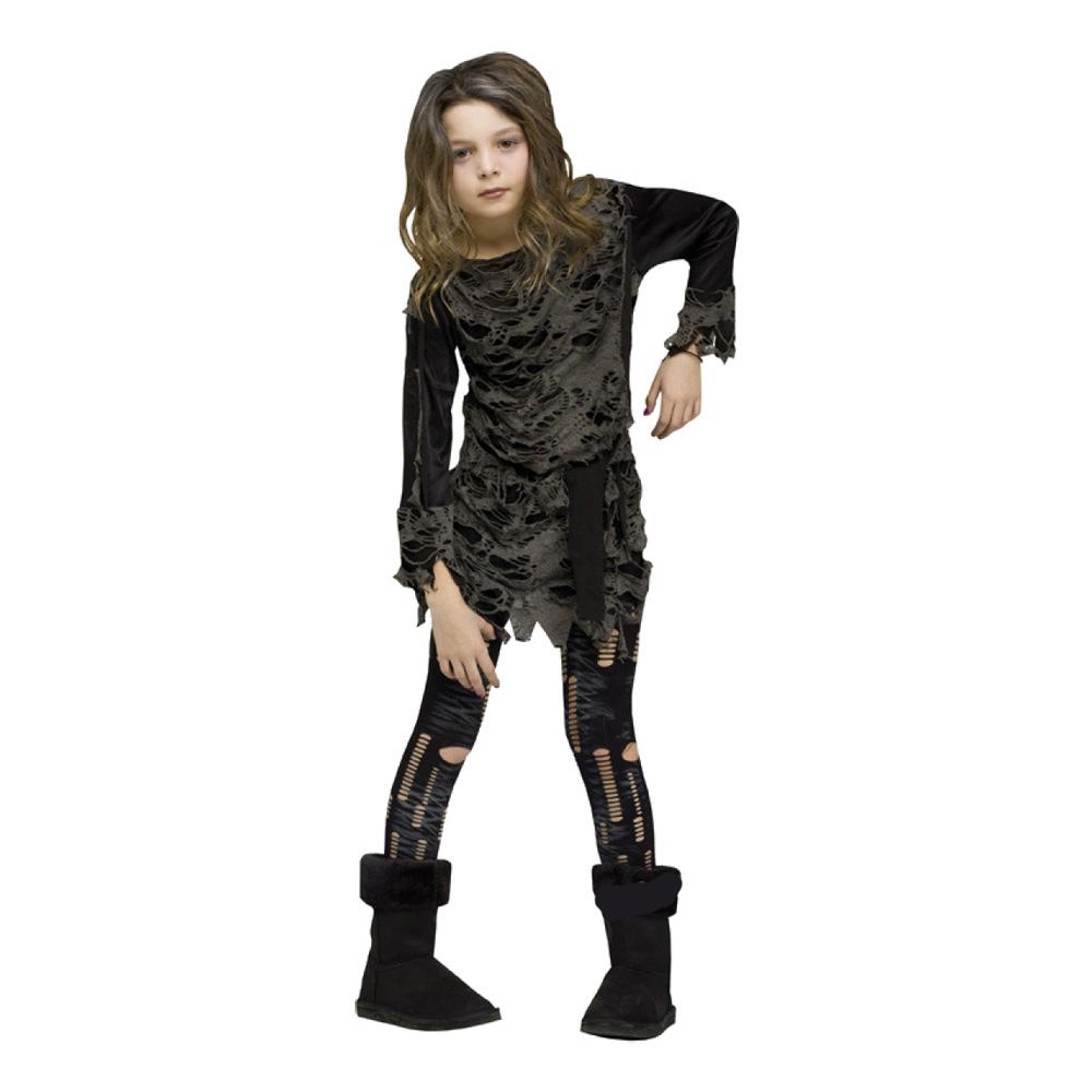 Zombieklänning Barn Maskeraddräkt - Medium