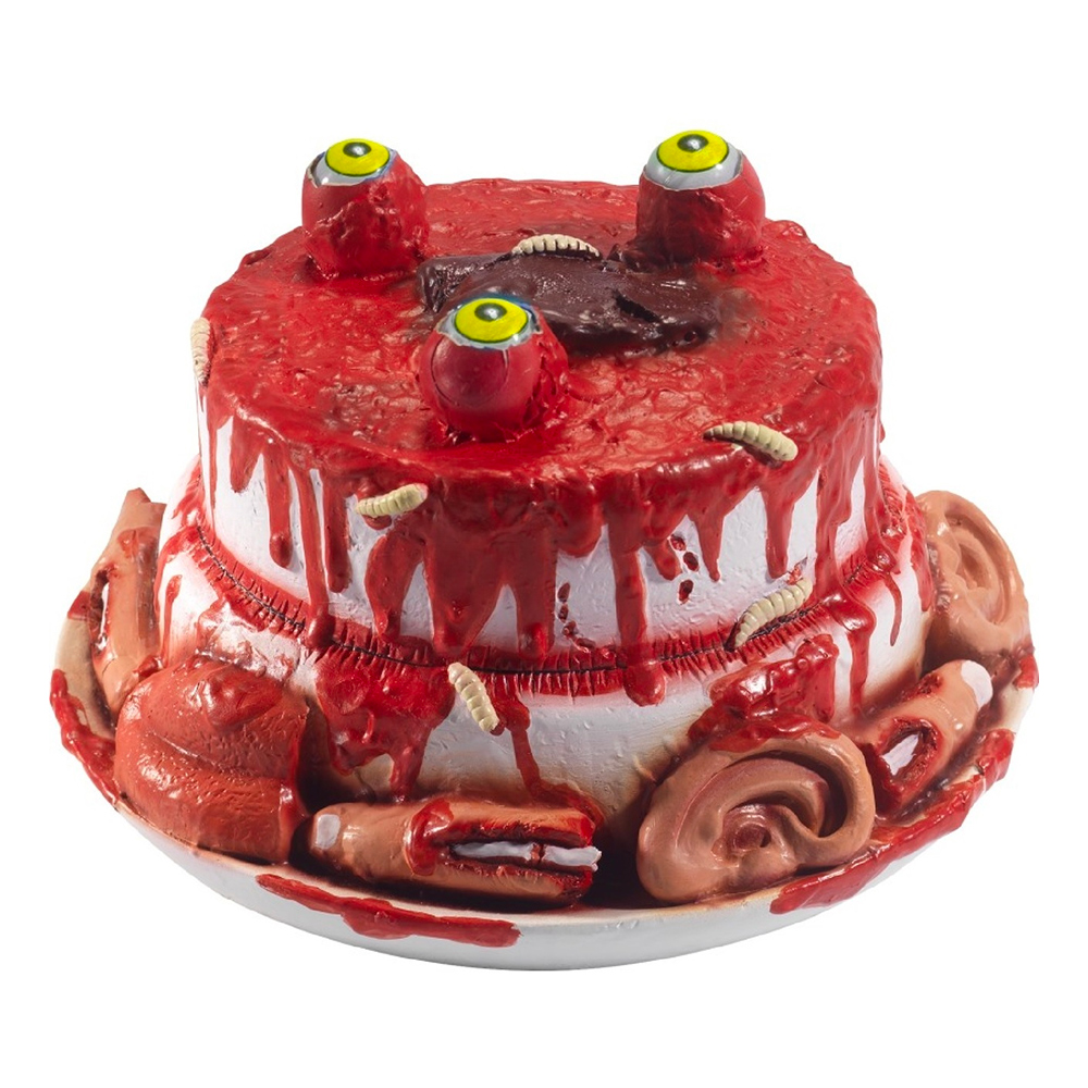 Zombietårta med Kroppsdelar Prop