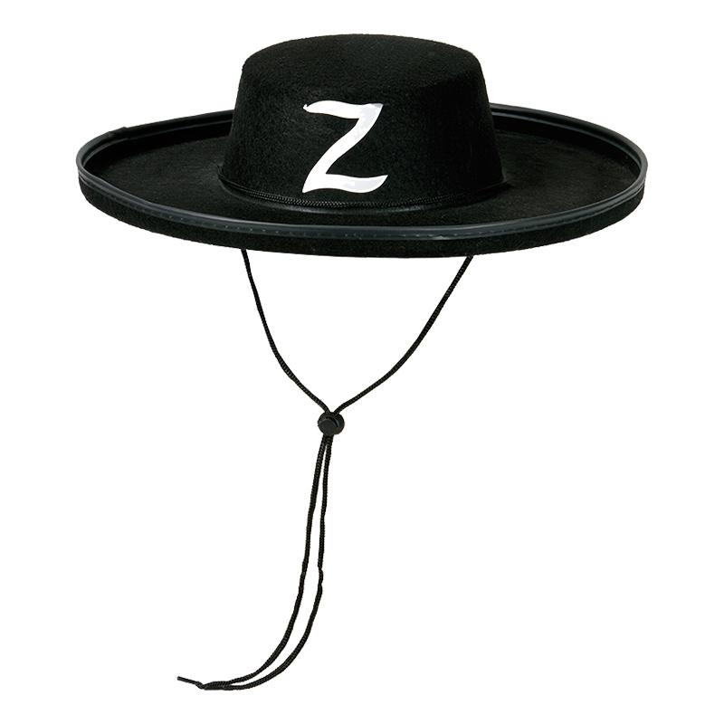 Zorro Hatt för Barn - One size