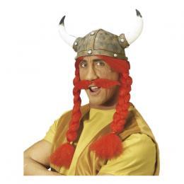 285a06f6 Gaulix Hjelm med Hår og Moustache