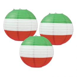 Paperilyhdyt Punainen Valkoinen Vihreä 0a032564a9