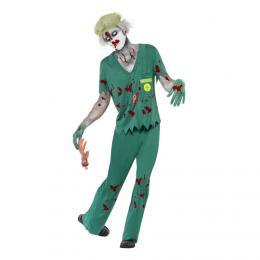 Zombie Doktor Halloween Maskeraddräkt - Partykungen.se 65a035e422ded