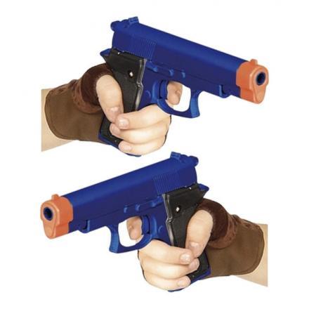 Actionhjälte Pistoler