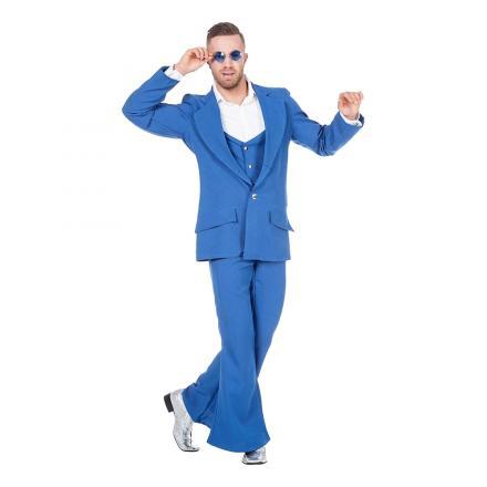 333821 333822 333824 114565 70tals partykungen33382. disco kostym blå  maskeraddräkt 7fc3050348f60
