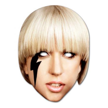 Lady Gaga Pappmask