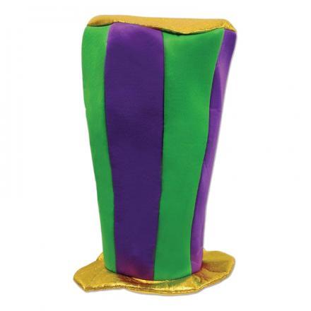 357071 partykungen35707. mardi gras extra hög hatt a7a3217ae61ff