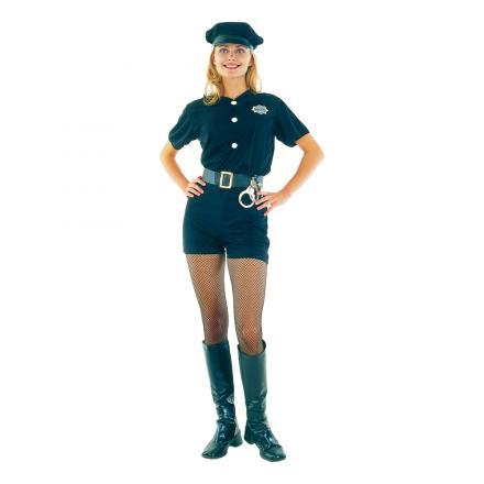 Maskeraddräkt Poliskvinna
