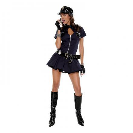 Maskeraddräkt Sexig Poliskvinna