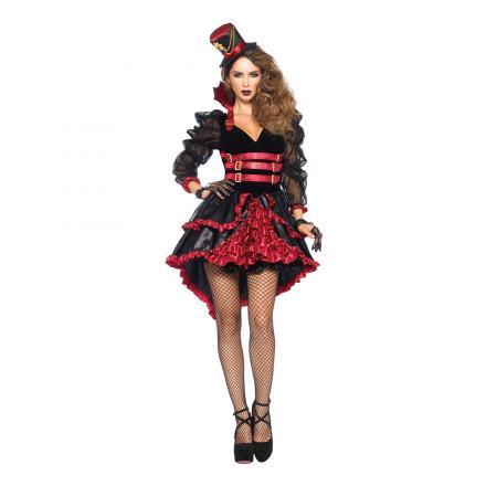 Viktoriansk Vampyra Deluxe Maskeraddräkt - Partykungen.se 5f751a02a120d